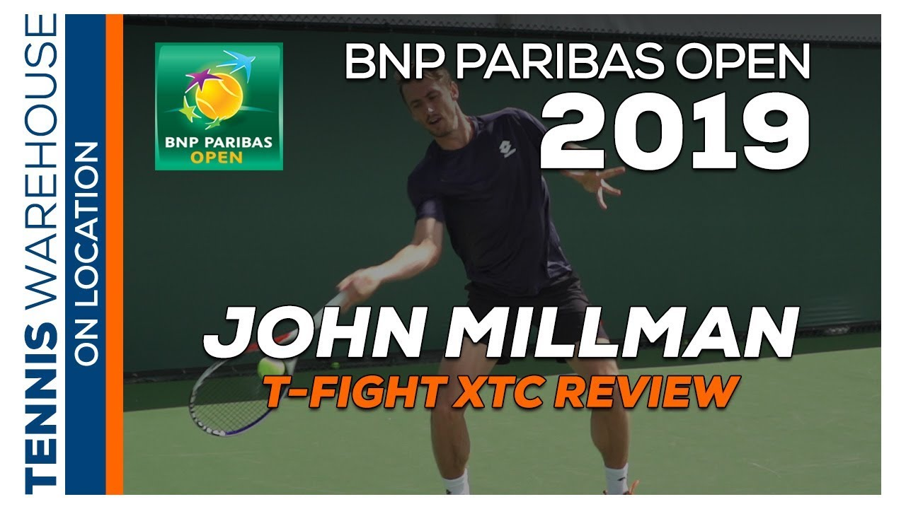 ATP's John Millman talks about his Tecnifibre Racquet & Strings