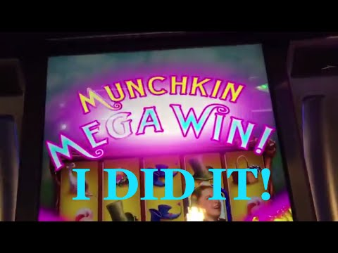 3 Versions of Wizard of Oz SLOT Machines w/BIG WINS!! ✦LIVE PLAY✦ Slot Machine Pokie in Vegas and