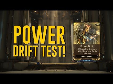 Power Drift Test & All You Need To Know [Halls Of Ascension] (Warframe)