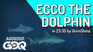 Ecco the Dolphin by GrimShins in 23:35 - Awesome Games Done Quick 2021 Online