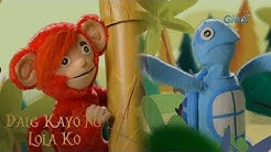 Daig Kayo ng Lola Ko: The story of the greedy monkey and the witty turtle (full episode)