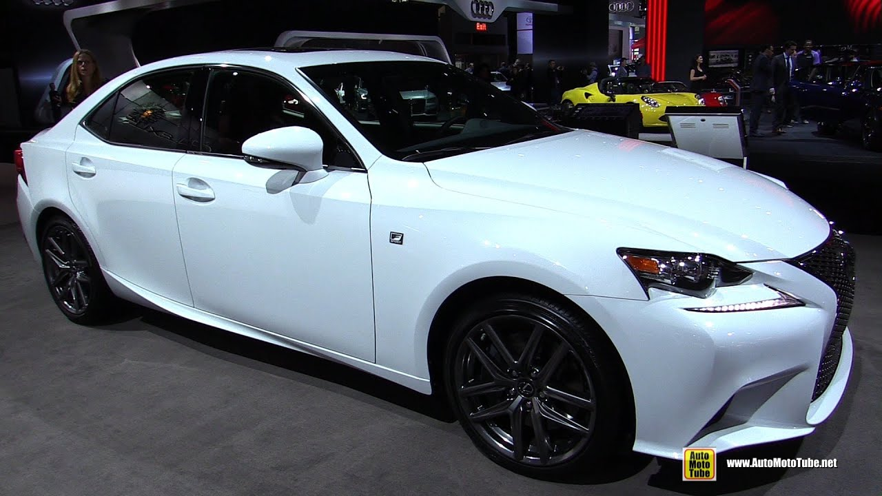 2016 Lexus Is300 F Sport Awd Exterior And Interior Walkaround New York Auto Show