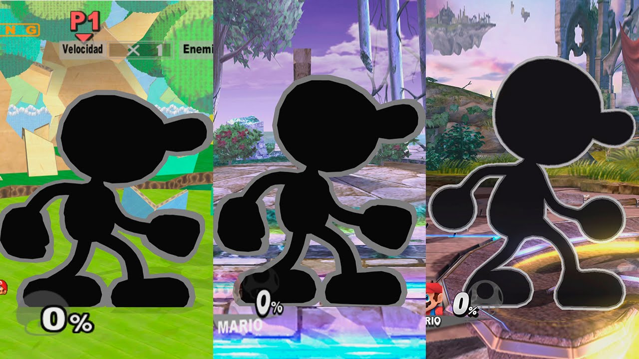 Super Smash Bros Melee - Mr. Game and Watch - Classic Mode ...