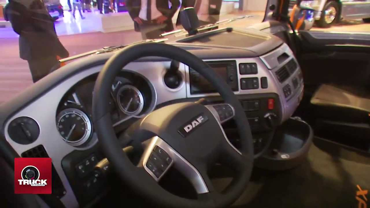 Daf 106 Interieur Daf La Bonne Surprise Salon Iaa 2012 Reportage Video Truckeditions