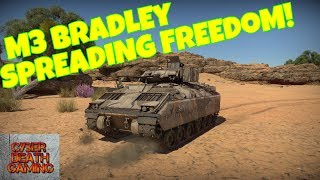 War Thunder: M3 Bradley Spreading Freedom! || RB Gameplay