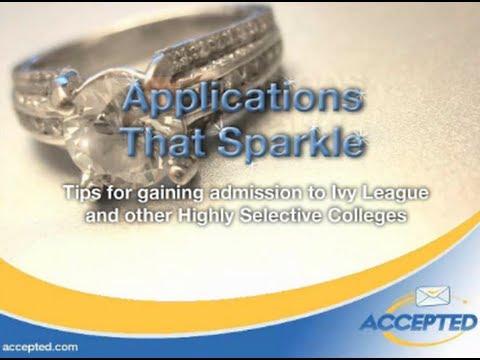 Ivy League Applications that Sparkle