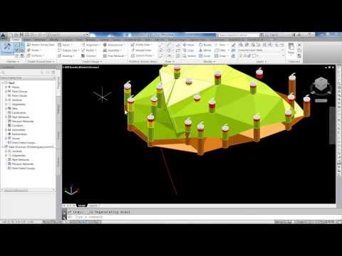 AutoCAD Geology Faults - Geology Fault Modelling in AutoCAD Civil 3D