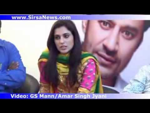 Harbhajan Mann Sonia Mann Babu Singh Mann Mehreen and Team on Promo of Haani Part2