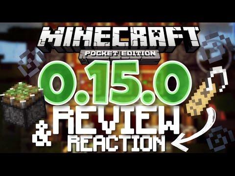 ✔️Minecraft PE 0.15.0 BETA - REVIEW & REACTION // Minecraft Pocket Edition 0.15.0 [MCPE 0.15.0]