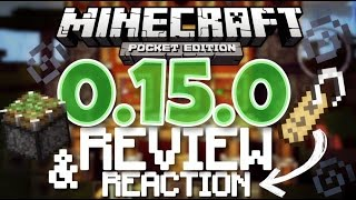 minecraft pe 0 15 0 beta review reaction minecraft pocket edition 0 15 0 mcpe 0 15 0