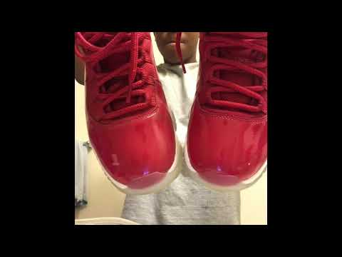HOW TO CLEAN YOUR GYM RED 11s 😍‼️