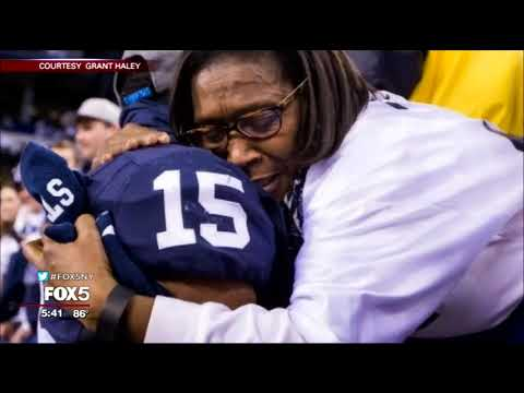 Giants Rookie FA Grant Haley's Mom search for a living donor