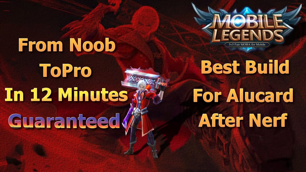 Mobile Legends Best Build For Alucard After Nerf Guide