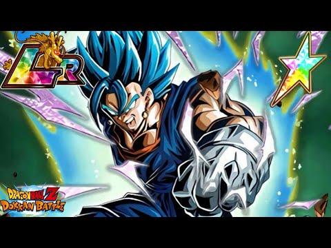 BEST UNIT IN THE GAME?... LR Vegito Blue 100% Showcase   Dragon Ball Z Dokkan Battle