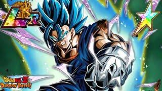 BEST UNIT IN THE GAME?... LR Vegito Blue 100% Showcase | Dragon Ball Z Dokkan Battle