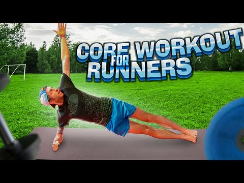 12 Minute Core Workout for Runners Improve Core Strength & Stability / Workout 7