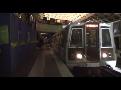 ᴴᴰ Washington Metro: Yellow Line Train Arriving at L