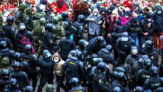 Беларусь: разгон марша