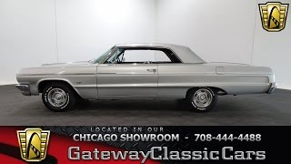 1964 Chevrolet Impala SS Gateway Classic Cars Chicago #1212