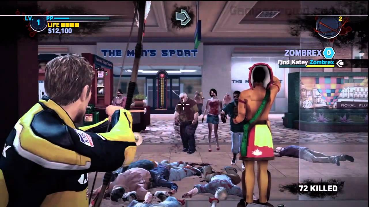 Dead Rising 2 Ps3 Gameplay First Hour Part 3 4 Youtube Playstation