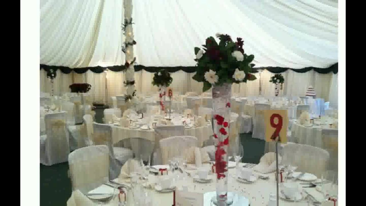 Wedding Table Decorations Mirrors