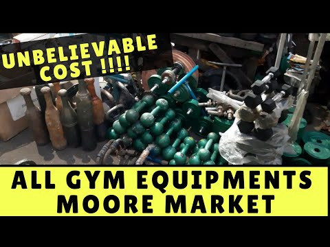 Gym Equipments At UNBELIEVABLE PRICES | Chennai Central | Moore Market Gym Equipment Shop |