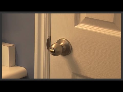 Bathroom door knob replacement YouTube