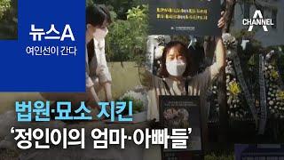 [여인선이 간다]법원·묘소 지킨 '정인이의 엄마·아빠들…