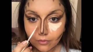 Гоар Аветисян - Процесс дневного макияжа глазами мужчин 😂😂😂 или контоуринг левел585😁😂👏🏻👌🏻