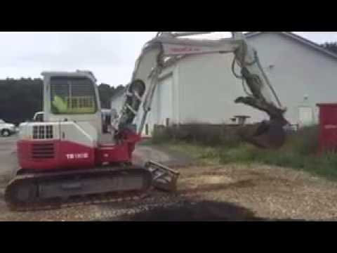 2010 Takeuchi TB180 FR - Being Sold at Public Auction 8-20-15 Queenstown, MD