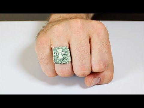 DIY How to Make Dollar Ring