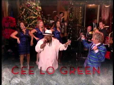 "Rod Stewart ""Merry Christmas, Baby"" Album CM"