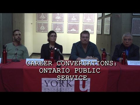 Career Conversations: Ontario Public Service