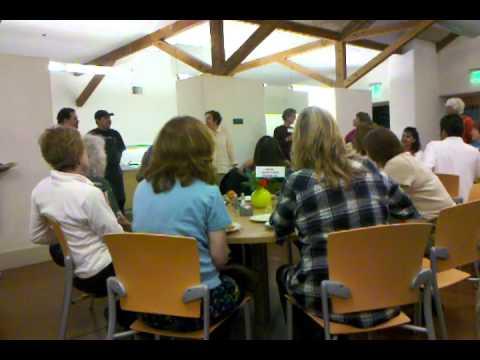 Sereneding The Kitchen Staff At CMN Conf