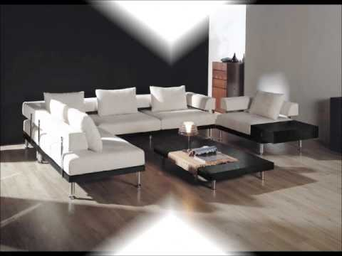 Baxton Studio Emma Cream Microfiber Contemporary Modular Sectional Sofa  Chair Set