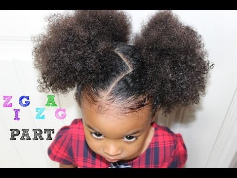 Zig Zag Hairstyle | How to do a Zig Zag Part
