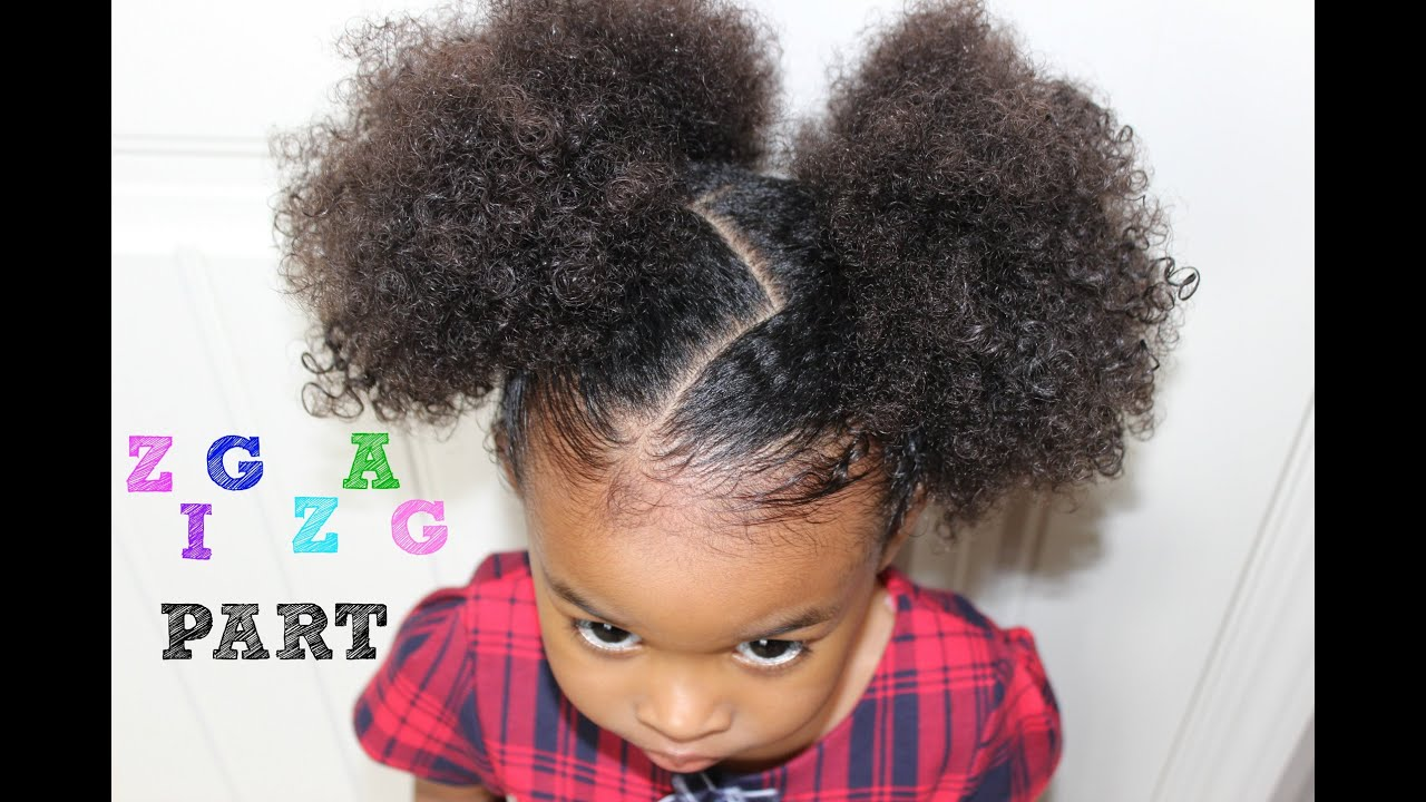 Zig Zag Hairstyle How To Do A Zig Zag Part YouTube