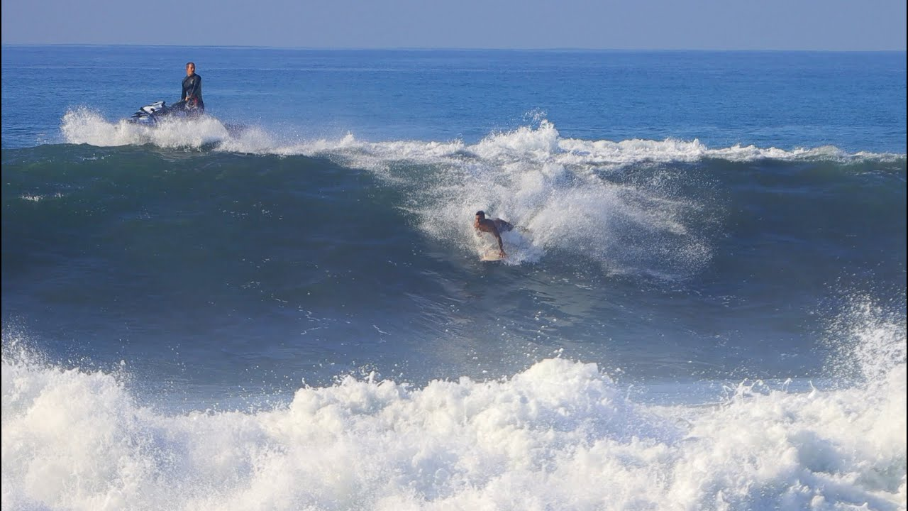 Step-Offs At Rare Bali Slab - East Coast, 17 September 2020