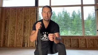 Hand wrap Boxing tutorial for fitness classes