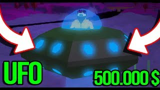 👽 I BOUGHT a UFO for $500.000! In JAILBREAK • ROBLOX [#103] 👽
