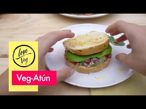 Veg-Atún ¡Delicioso, nutritivo y vegano! 🌰  -  Love Veg