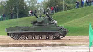 2K22 Tunguska 30-mm Anti-Aircraft Gun / Missile System