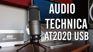 Best USB Mic for Music: Audio-Technica AT2020 Review