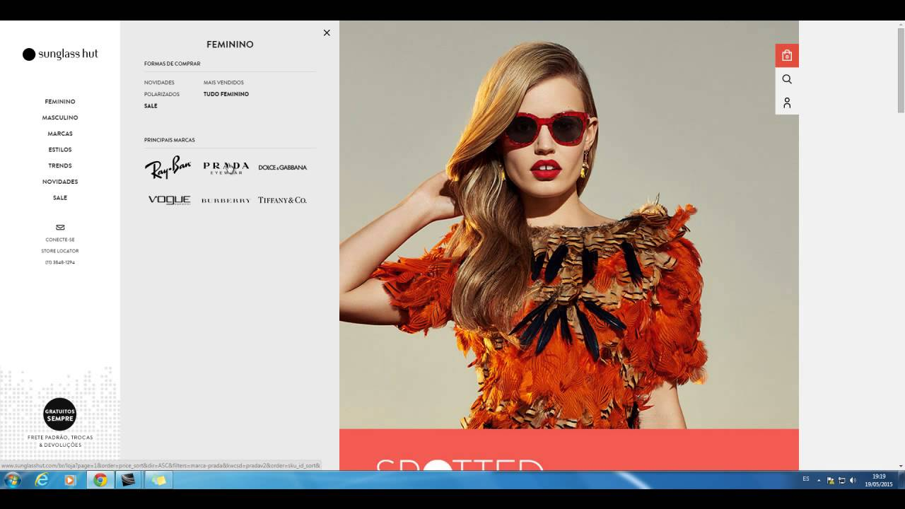 b3d979fcf Código promocional Sunglass Hut - Cupom SunglassHut e ofertas de beleza e  saúde, Óticas, farmácias.