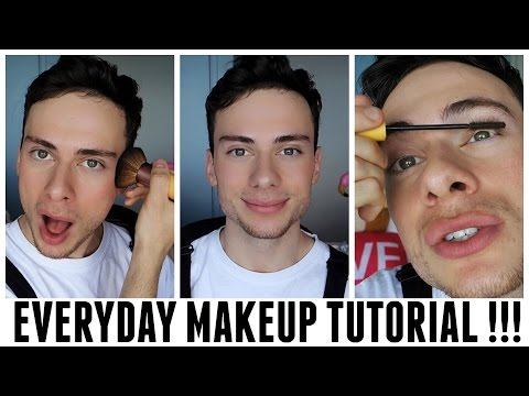 MEN'S NATURAL MAKEUP // BEAUTY HACKS EVERY GUY SHOULD KNOW!!!