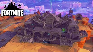 His base is way too stylish! Fortnite Saving the World