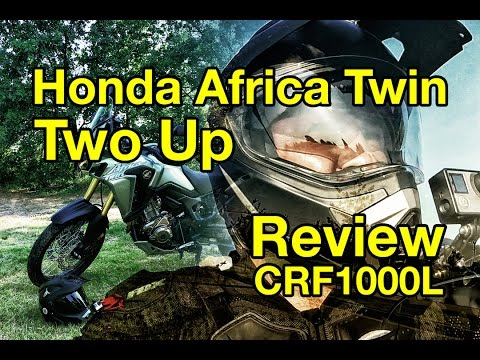 Honda Africa Twin Intial Two Up Review for the CRF1000L