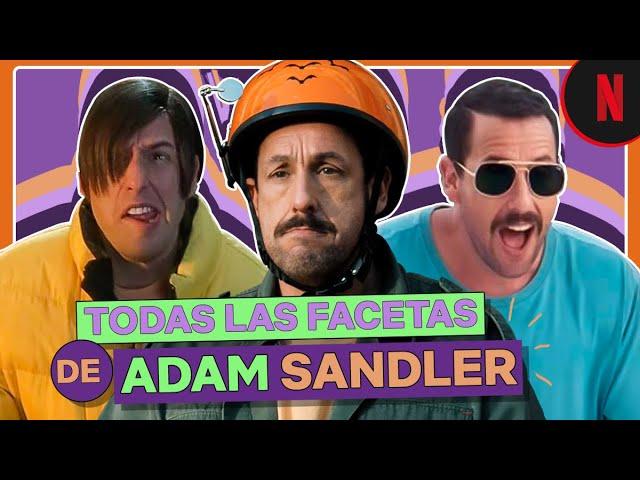 Estos han sido los papeles de Adam Sandler a través de su carrera | Netflix