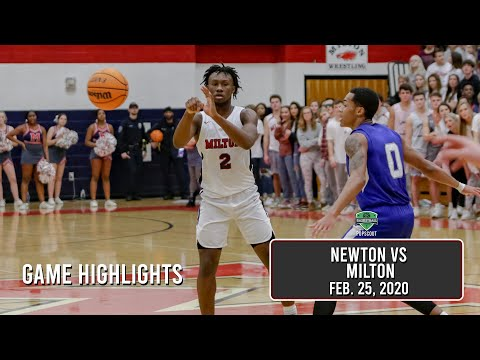 Five Star Bruce Thornton Puts Team On His Back. Leads Milton Over Newton To Advance To Final 4.
