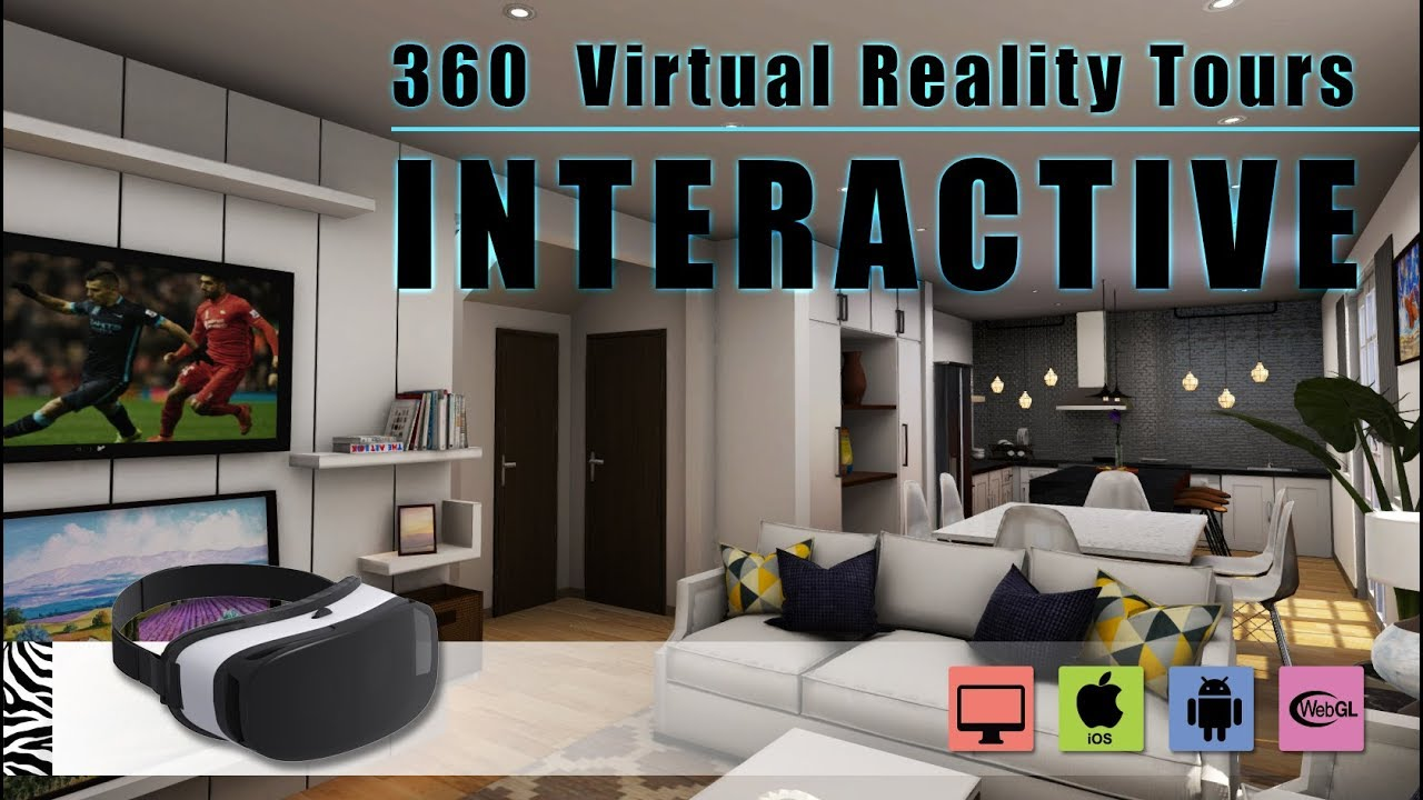 Interactive 360 virtual reality tours mobile app - Virtual room designer app ...